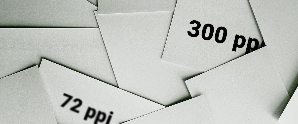 Резолюция на снимката 72 ppi vs 300 ppi