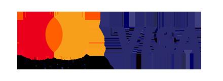 Visa, Mastercard лого